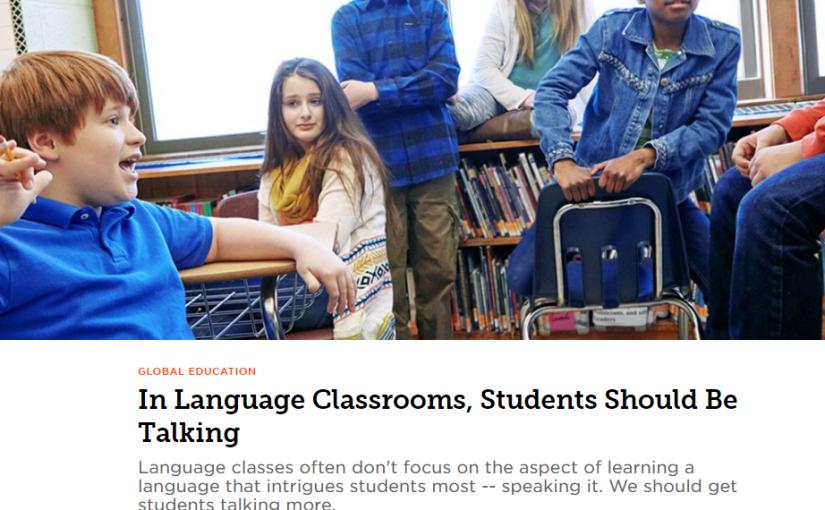 5 activities to get your students to speak more inclass