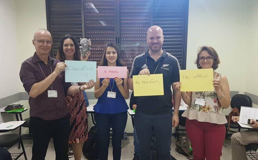 My account of BRAZ-TESOL Goiânia/Brasília JointEvent