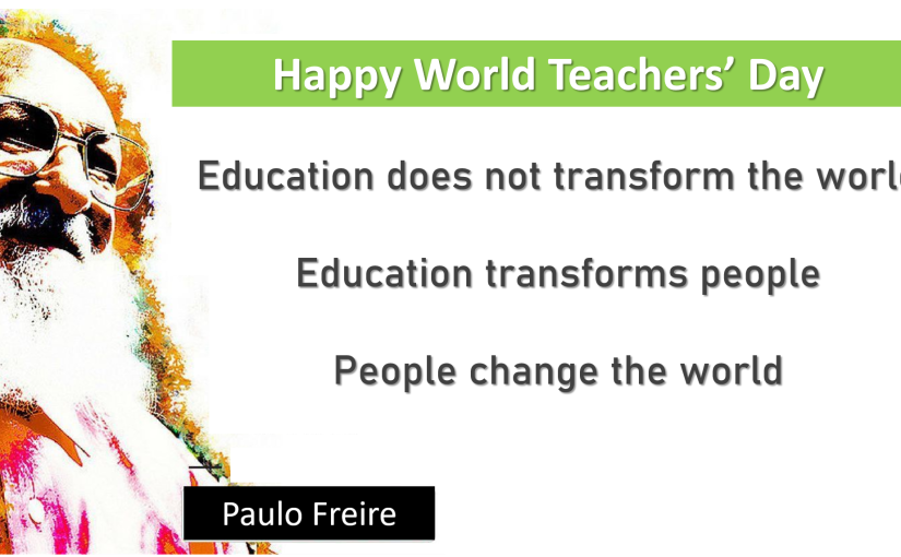 A Letter to the Teachers of theWorld